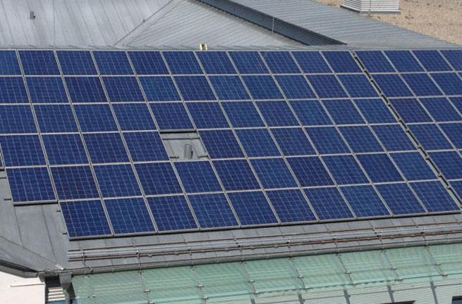 Inspektionsflüge bei einer Photovoltaikanlage
