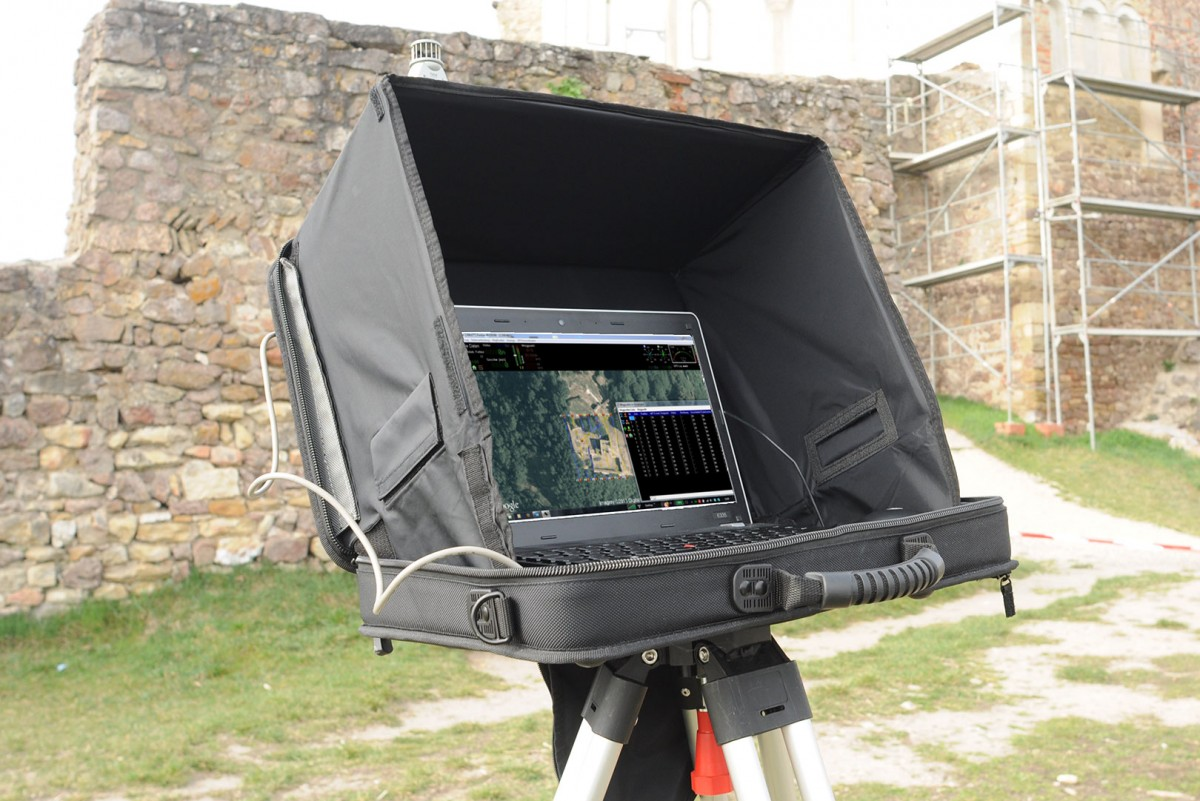 Erstellung von Luftbildaufnahmen und Vermessungen mithilfe von Multikopter